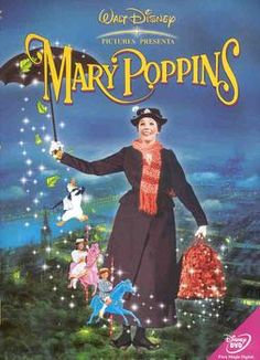 Recently we decided to introduce our boys to the world of Disney's Mary Poppins. We do pizza and movie nights around here, and I felt it was time for a classic. I remember seeing Mary Poppins as. Mary Poppins 1964, Mary Poppins Movie, Dvd Disney, Walt Disney, Disney Movies, Punk Disney, Disney Characters, Julie Andrews, Old Movies