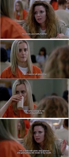 Nicky and Piper. Orange is the New Black Season 2