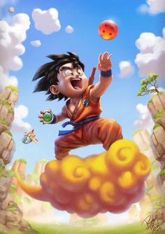 Son Goku by superpascoal on deviantART