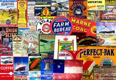 CUTOUT EMBELLISHMENTS, Clip Art Grab Bag, Scrapbook Ephemera, Vintage Advertising, Antique Reproductions, Ephemera, Collage Cutouts, Set 108 by retrowallart on Etsy