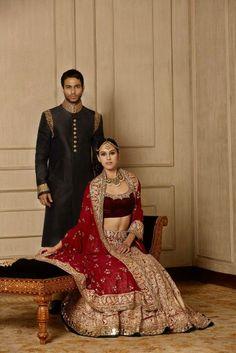 Classic by Manish malhotra Indian Bridal Lehenga, Indian Bridal Fashion, Indian Bridal Wear, Pakistani Wedding Dresses, Indian Ethnic Wear, Bridal Dresses, Wedding Gowns, Lehenga Chunni, Manish Malhotra Designs