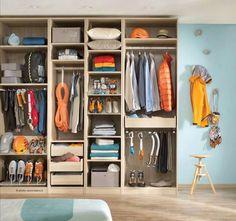 Epic gear closet.