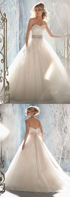 princess wedding dress,wedding dresses wedding dress #weddingdress .http://www.newdress2015.com/wedding-dresses-us62_25/p2