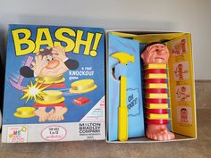 1965 Bash by Milton Bradley by 3LittleWitches on Etsy