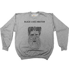 Black Lives Matter Figure -- Women's Sweatshirt