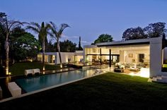 23 best ideas about luxuty villa design design villa Villa Design, Nachhaltiges Design, Modern House Design, Design Ideas, Roof Design, Design Inspiration, South African Homes, African House, Flat Roof House