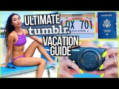 """How to Pack for an Airplane from """"mylifeaseva"""": I LOVE HER VIDEOS SO MUCH!!!"""