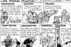 Zapiro: Cyril Ramaphosa