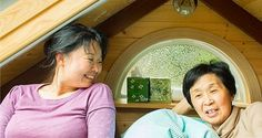 Daughter builds and shares peaceful tiny home with elderly mother : TreeHugger