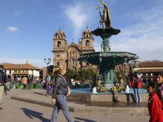 Peru Cuzco Square Festivities
