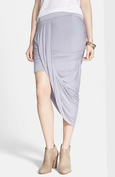 Free People 'Twist and Shout' Draped Skirt available at #Nordstrom