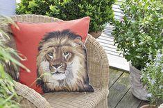 Kissen Löwe Diego U003c3 Dieses Meisterwerklich Gestaltete Kissen, Mit Einem  Königlichen Löwen, Wird