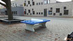 Pingpongtafel Afgerond Blauw bij Bs Emmaus in Heesch