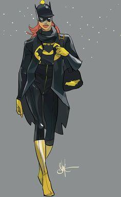 Batgirl - Art by Otto Schmidt Batgirl, Batwoman, Nightwing, Otto Schmidt, Comic Book Artists, Comic Books Art, Comic Art, Black Bat, Dc Characters