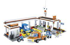 Ausini model building kits compatible with lego city car 628 3D blocks Educational model & building toys hobbies for children #Affiliate