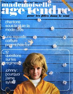Mademoiselle Age Tendre / Numéro 5 - Mars 1965 http://www.mesjournaux.com/mademoiselle-age-tendre/774-mademoiselle-age-tendre-numero-5-mars-1965.html