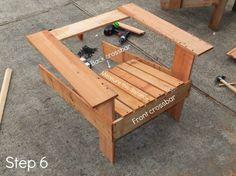 adirondack step 6 730x547 DIY Adirondack chairs