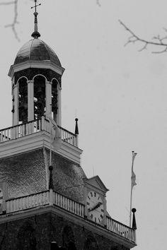 """Stukje Meppeler toren"" foto H.Brand Place Of Birth, Storyboard, Holland, Louvre, Building, Places, Life, The Nederlands, Buildings"