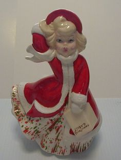 Vintage Christmas Caroler by stricklypaper on Etsy, $15.00