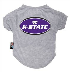 Dog Zone NCAA Pet TShirt Small Gray Kansas State University -- Be sure to check out this awesome product.