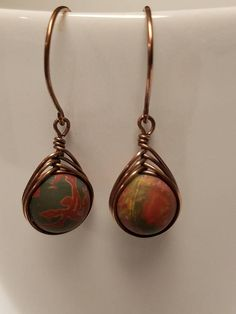 Hey, I found this really awesome Etsy listing at https://www.etsy.com/listing/526989521/picasso-jasper-herringbone-earrings