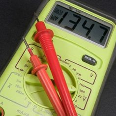 Multimeters can be set to measure current in amps.