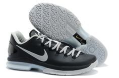Nike Zoom Kevin Durant's KD V Elite Low Basketball shoes Black/Grey