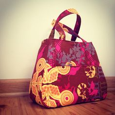 Ethel Tote Bag - Swoon Sewing Patterns. Free bag pattern.