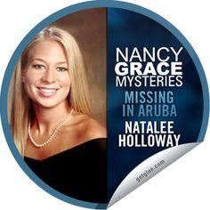 Steffie Doll's Nancy Grace Mysteries: Natalee Holloway Sticker   GetGlue