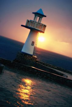 Simple pleasure...lighthouse sunset in Negril #JamaicaMiHappy #IrieLife @Jamaica Tourist Board