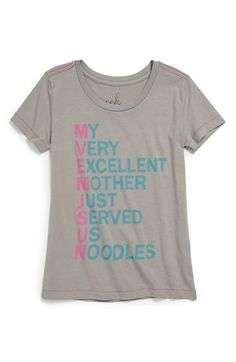 Peek 'MVEMJSUN' Tee (Toddler Girls, Little Girls & Big Girls) available at #Nordstrom