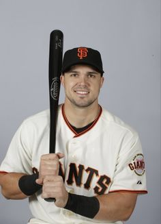 This is a 2015 photo of Adam Duvall of the San Francisco Giants baseball team.
