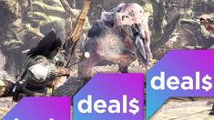 Monster Hunter: World discounts Madden Super Bowl special editions and more great game deals