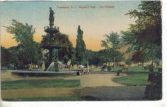 The Fountain,Hayward Park-Providence,Rhode Island
