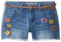 BESTSELLER! Squeeze Big Girls' Crewel Embroidered... $12.38