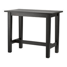 IKEA - STORNÄS, Mesa alta, Gracias a que está tratada con un barniz incoloro, la superficie es fácil de limpiar.