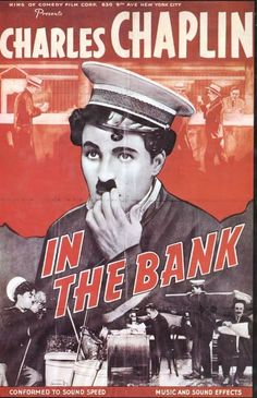 1915 In the Bank - Charlie Chaplin