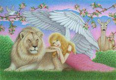 Ariel Lion of god | Archangel Ariel by winry7405