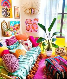 Home Decoration Interior .Home Decoration Interior Living Room Decor, Bedroom Decor, Bedroom Colors, Wall Decor, Colourful Living Room, Aesthetic Room Decor, My New Room, Cheap Home Decor, Home Decor Inspiration