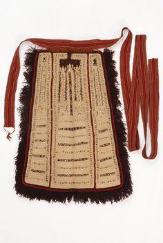 Rammatenia podia (apron) with an extra steni zoni (narrow belt) from Thesprotia, Epirus, Greece © Lyceum Club of Greek Women