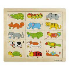 ontdek je mee de dieren van deze puzzel ?