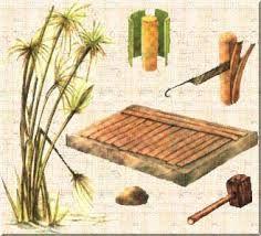A História do Papel - Papiro