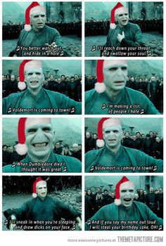 Just a Voldy Christmas Song…