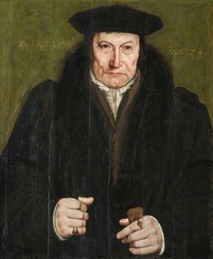 Portrait of a Gentleman by Hans Holbein the younger (circle of) St John's College, University of Cambridge Renaissance Portraits, Renaissance Paintings, Renaissance Men, Renaissance Clothing, Tudor History, Art History, Hans Holbein The Younger, St Johns College, Albrecht Dürer