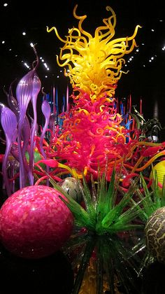art glass - by Dale Chihuly
