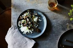 Grace Young's Stir-Fried Garlic Eggplant with Pork recipe on Food52