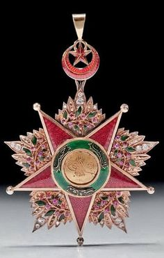 Late-Ottoman order medal.  19th century.
