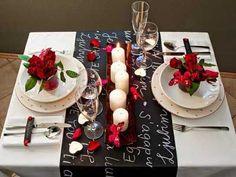 15 Fotos E Ideas Para Decorar Una Mesa En San Valent N Romantic Dinnersromantic