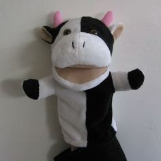 how to make a cow puppet - Google Search
