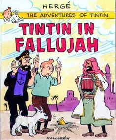 Tintin in Fallujah - Blended with Superimpose